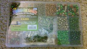 Camo bands and beeds for rainbow loom in Travis AFB, California