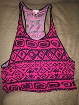 Tribal Pattern - Pink and Black Muscle Tank in Oceanside, California