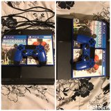 PlayStation 4 Bundle (comes with one controller, 2 Games, power cord, and HDMI cable in Fort Irwin, California