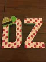 Delta Zeta Letters in Oceanside, California