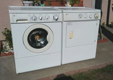 GE WASHER AND GAS DRYER SET in Oceanside, California
