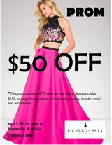 PROM Coupon in Naperville, Illinois