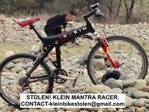 STOLEN! KLEIN MANTRA RACER BICYCLE in Sacramento, California
