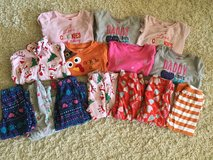 Girls 2T winter PJ lot in Aurora, Illinois