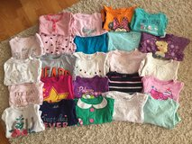 Girls 2T shirt lot in Aurora, Illinois
