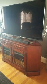 Solid Wood Entertainment TV Stand in Camp Lejeune, North Carolina