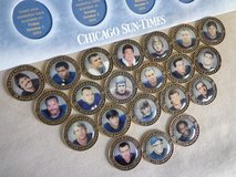 Chicago Bears Medallion Collection in Chicago, Illinois