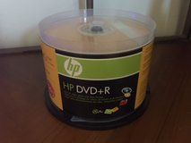 HP 4.7GB 16X DVD+R Spindle in Glendale Heights, Illinois