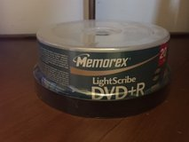 Memorex LightScribe Compatible 4.7GB 8X DVD+R (20-Pack) (Discontinued by Manufacturer) in Glendale Heights, Illinois