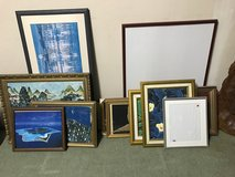 Many picture frames in Okinawa, Japan