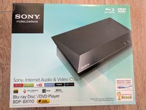 Sony Blu-Ray 110V, New in Box, with HDMI cable in Ramstein, Germany