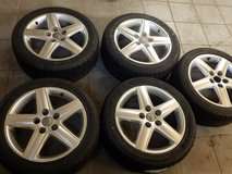 4x new all season tires (M+S) ICE-Plus  235 45 R17 on AUDI alloy wheels in Ramstein, Germany