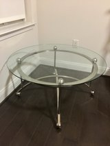 Glass top Coffee Table in Bolling AFB, DC