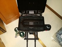 Coleman BBQ gas grill in Okinawa, Japan