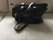Leather Coach diaper bag in Chicago, Illinois