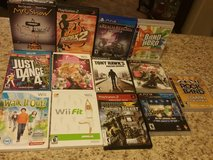 Wii,Playstation 2,PS3,Ps4 games in Hinesville, Georgia