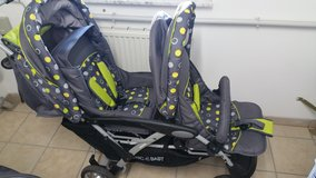 Chic 4 Baby double stroller in Ramstein, Germany