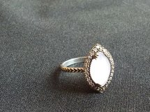 Vintage sterling silver ring light pink stone in Ramstein, Germany