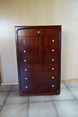 Mahogany dresser and 2 night tables in Ramstein, Germany