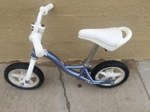 Haro Z10 balance bike in Camp Pendleton, California