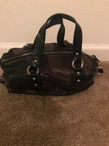 Coach Purse - Black/Brown in Fairfield, California