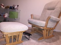 Glider and ottoman - dutailier extra wide in Chicago, Illinois