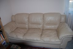 3  Piece Leather Living Room Set in Ramstein, Germany