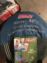 New- Coleman sleeping bag in Chicago, Illinois