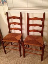 Two ladderback chairs in Lawton, Oklahoma