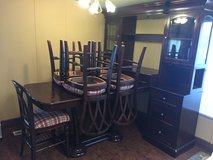 6 place Dining Table / China Cabinet / Buffet in The Woodlands, Texas