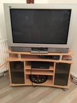 """TV Stand w 32"""" TV in Spangdahlem, Germany"""