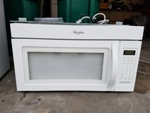 Microwave-Over the range Whirlpool in Chicago, Illinois