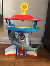 Paw Patrol lookout in Fort Bliss, Texas
