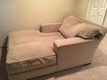 Grey large chaise in Wheaton, Illinois