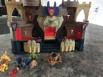 Imaginext castle in Fort Bliss, Texas