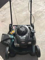 Lawnmower in Fort Bliss, Texas