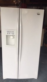 Newer Ge Profile White Refrigerator in Camp Pendleton, California