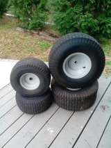 Riding mower tires and rims in Byron, Georgia