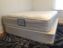Full Size Mattress/Box Spring/Bed Frame in Chicago, Illinois