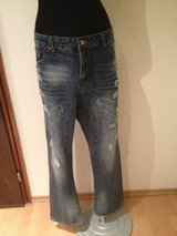 Brand New Denim Ripped Jeans in Ramstein, Germany