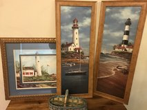 Lighthouse decor in Travis AFB, California