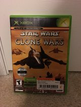 Star Wars-The Clone Wars XBox Game in Camp Lejeune, North Carolina