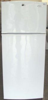 18 CU. FT. WHIRLPOOL REFRIGERATOR- SMOOTH WHITE(FINANCING) in Camp Pendleton, California