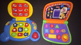 Baby toys mini laptops Vtech and Fisher Price in Morris, Illinois