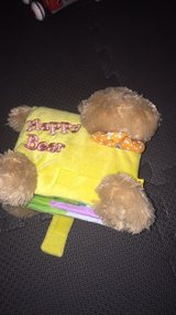 Happy Bear fabric baby book in Morris, Illinois