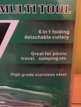 Camping multi tool brand new in Morris, Illinois