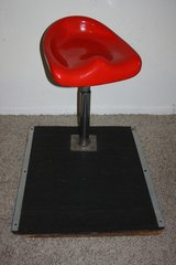 Vintage Bar/Casino Stool With Base in Kingwood, Texas