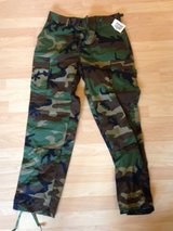New BDU Woodland Camouflage Utilities in Vista, California