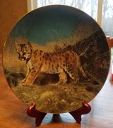 Decorative Plate - 1 of 6 Small Wonders of the Wild plates I have for sale -Ready for Adventure in Algonquin, Illinois