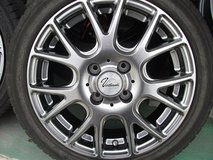 15inch (brand new rims and used tire set) in Okinawa, Japan